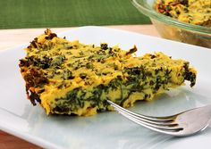 Greens Quiche: View this and hundreds of other vegetarian recipes in the @The New York Times Eat Well Recipe Finder.