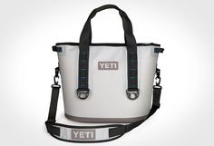 Time to chill with the Yeti Hopper 30 Cooler. The long awaited soft shell Yeti Hopper lives up to the hype and the Yeti indestructible brand promise. The Hopper is portable, airtight, leak-proof an… Yeti Cooler, Cooler Box, Best Soft Cooler, Car Camping Essentials, Camping Gear, Camping Stuff, Portable Fridge, Soft Sided Coolers, Valentines Day Gifts For Him