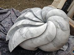 Carrara Marmor 2014 … Outdoor Sculpture, Stone Sculpture, Abstract Sculpture, Sculpture Art, Metal Sculptures, Soapstone Carving, Stone Masonry, Pottery Sculpture, Stone Crafts