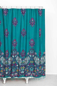 Plum & Bow Blomma Shower Curtain $54