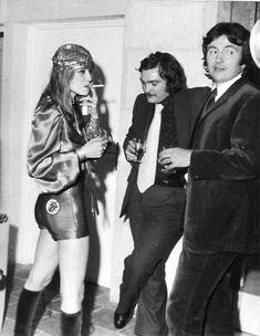 Anita Pallenberg conoció a los Stones en 1965 en un concierto de la ONU organizado en Munich.