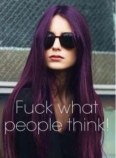 Why I got purple!!!