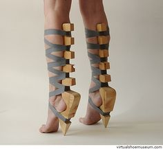 Takes a certain kind of woman to wear these...and I don't know any of those kind of woman.