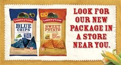 Gmo Free Gardening Red Hot Blues Garden of Eatin Chips - my favorite flavor :) Whole Food Recipes, Snack Recipes, Easy Recipes, Whole Foods Products, Blue Corn Tortilla Chips, Sweet Potato Chips, Organic Gardening Tips, Organic Vegetables, Healthy Eating