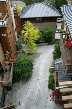 Johnston Architects/William Parks, Inc.   Fremont Lofts (woonerf), Seattle
