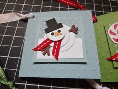 Saturday I had my Collage Class and we made a really cute Framed Christmas collage. I showed this project a w. Christmas Collage, Christmas Cards To Make, Christmas Wrapping, Christmas Tag, Xmas Cards, Holiday Cards, Christmas Crafts, Christmas Ideas, Snowman Cards