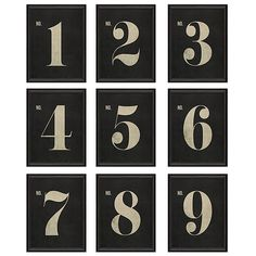 "Ballard Designs Vintage Number Art  20"" x 16"" ($129) ❤ liked on Polyvore featuring home, home decor, wall art, vintage home decor, vintage wall art, vintage home accessories, vintage posters and black wall art"