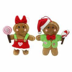 St. Nicholas Square 2-pc. Gingerbread Christmas Ornament Set