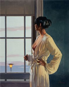 """""""Baby, Bye Bye"""" Jack Vettriano. First shown in 2004 as part of the Affairs of the Heart exhibition in London."""