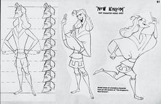 Emperor's New Groove old concept art