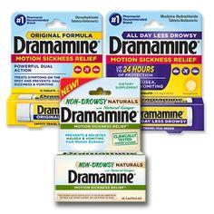 Dramamine® Motion Sickness Medicine Coupons