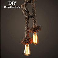 1 Light DIY Art Hemp Rope Light Creative Hemp Rop... – GBP £ 24.49