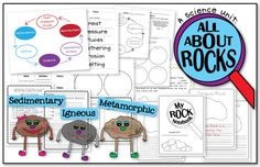 rocks activity sheets kids | ... rock story problems rock observation worksheets book suggestions and