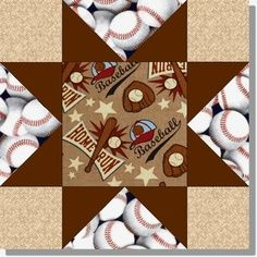 Learn To Sew An Exquisite Baseball Quilt Baseball Quilt