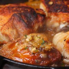 Garlic Brown Sugar Chicken by Tasty