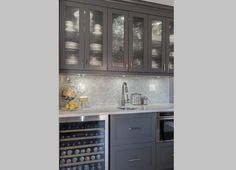 Classic design choices were accented with playful contemporary features to transform this once dated kitchen into a timeless showstopper. ~Endless Ideas in collaboration with The Kitchen Studio. #EndlessIdeas