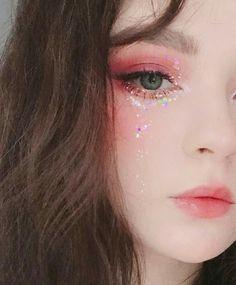 141 trendy eye korean make up asian makeup - page 20 Kawaii Makeup, Cute Makeup, Pretty Makeup, Makeup Art, Beauty Makeup, Makeup Looks, Hair Makeup, Pink Eye Makeup, Asian Makeup