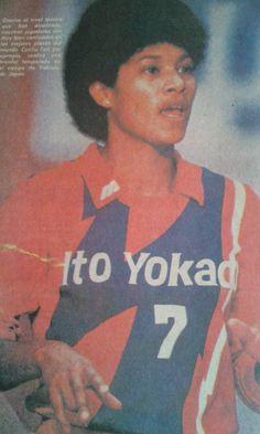 Cecilia Tait en el club ITO YOKADO Japon 1984 Volleyball History, Volleyball Players, Olympic Athletes, Olympics, Baseball Cards, Sports, Historia, Hs Sports, Sport
