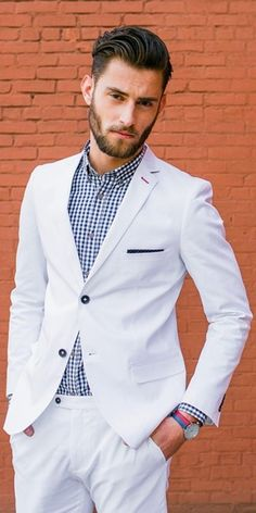 40 Royal Men's White Suit Costume Ideas that makes you feel exclusive