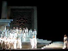 Sperate, O Figli! - Nabucco rehearsal at the Detroit Opera House