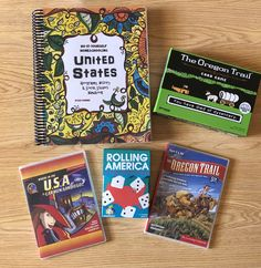 Geography, History, and Social Studies Funschooling for creative Homeschoolers using the thinking tree. Oregon Trail Board Game, Geography Map, School Fun, School Ideas, Us History, Play To Learn, Home Schooling, Homeschool Curriculum, Creative Kids
