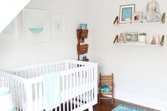 Project Nursery - Serene Ocean Inspired Nursery
