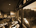 Salish Lodge. Great for a romantic dinner or girls' brunch:)