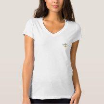 "So Beautiful ""Bellissimo_Itailian_Golden Anchor T-Shirt"