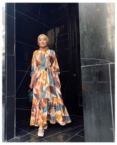 Hijab Fashion Summer, Modest Fashion Hijab, Modern Hijab Fashion, Modesty Fashion, Hijab Fashion Inspiration, Muslim Fashion, Fashion Outfits, Fashion Muslimah, Girl Fashion