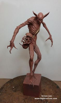 Simon Lee (Spiderzero) Liked · 2 hrs Rollie Pollie Sculpture Clay, Abstract Sculpture, Oil Based Clay, Statues, Character Art, Character Design, Monster Pictures, Traditional Sculptures, 3d Figures