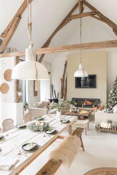 Modern Home Interior Design, Home Room Design, Interior Design Inspiration, House Design, Cottage Renovation, Rustic Cottage, House Layouts, Living Room Inspiration, Home Staging