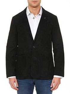 Who doesn't love being in the black? This classic black sports coat gets a modern twist in seriously slick suede with a subtle chevron embossed design and lined with an abstract floral print. It's a super stylish must-have that's on the money!   	 		 			 				 					Famous...  More details at https://jackets-lovers.bestselleroutlets.com/mens-jackets-coats/wool-blends-mens-jackets-coats/product-review-for-robert-graham-russell-suede-woven-outerwear-black/