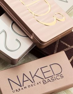 Urban Decay's NAKED Palettes
