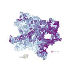 Pendler Quote in Niederösterreich: Die interaktive Similio Pendler Quote Karte zeigt die Pendler Quote im Bundesland Niederösterreich an. Detaillierte Ansichten befinden sich im Bereich Landkarten:Bezirke und Landkarten:Landschaften mit Pendler Quote der untergeordneten Bezirke und Landschaften.