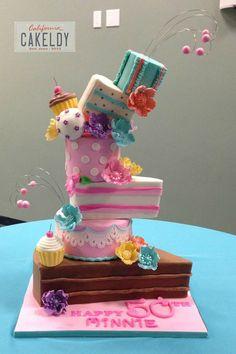 Marina Sousa Inspired Cake - by thecakeldy @ CakesDecor.com - cake decorating website