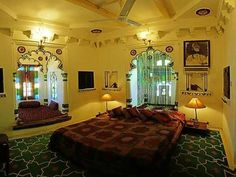 Deogarh Mahal - Resort Deogarh, India Mansion Interior, 4 Star Hotels, Car Parking, Hotel Offers, Mansions, Palaces, Bed, Wi Fi, Room