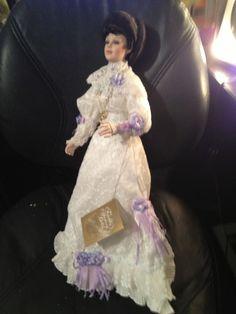 "Franklin Heirloom Mint 21"" Porcelain Doll Coca Cola EMMA Victorian Gibson girl  US $99.95"