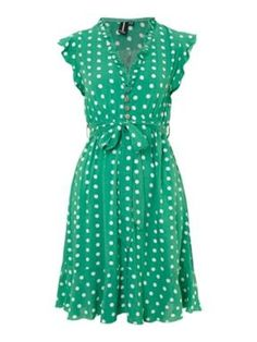 I adore everything about this. The length, the color, the polka dots, the…