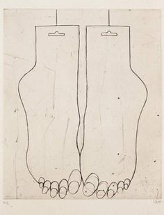 Louise Bourgeois line illustration