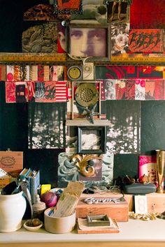 Living in a collage | Sneak Peek: R. Rolfe + Stephan Rutledge from Design Sponge