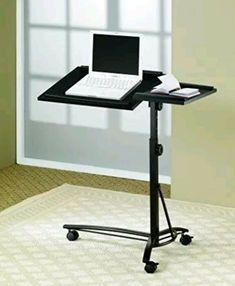 Home Writing Simple Desktop Computer Desk Notebook Computer Desk Bed Learning With Household Folding Mobile Bedside Table Excellent Quality Office Furniture Laptop Desks