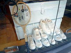 Tennis racket jewellery display, Kabiri, 37 Marylebone High Street, London W1U 4QE, Image by Homegirl London