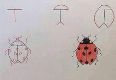 Bildergebnis für zeichnen ideen leicht | zeichnen ...