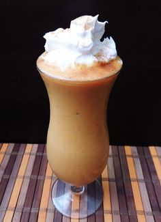 Pumpkin Pie Smoothie - I will be adding this to my list of favorites!