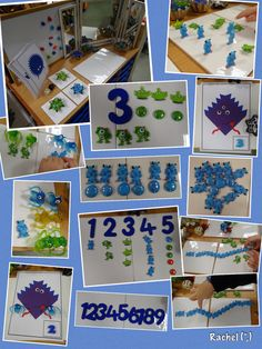 "Monsters and Aliens in the Maths Area - from Rachel ("",)"