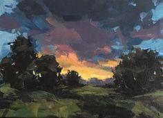 "Daily Paintworks - ""Just Listen"" - Original Fine Art for Sale - © Shannon Bauer Impressionist Landscape, Landscape Art, Landscape Paintings, Uk Landscapes, Cloud Art, Sky Painting, Fine Art Gallery, Painting Inspiration, Creative Art"