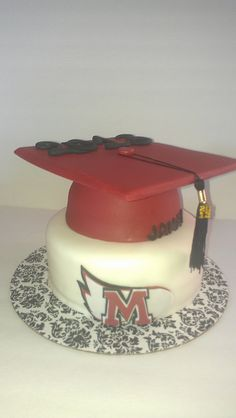 Graduation Cake -- Except for NC State :)