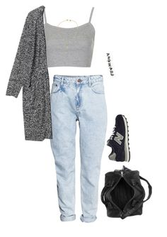 """""""only in my dreams"""" by chanelandcoke ❤ liked on Polyvore featuring H&M, Topshop, New Balance, Monki, Alexander Wang and Daisy Knights"""