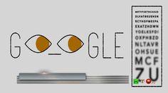 Il doodle animato di Google per il 181° compleanno di Ferdinand Monoyer ...