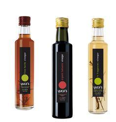 Diseño para gama de vinagres y aceites Gourmet Yuca's